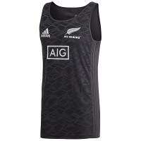 All Blacks Black Singlet