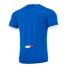 Macron Italy 2021 Poly Home Rugby Tee