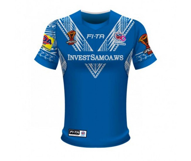 Samoa Rugby League World Cup 2017 Home Tee
