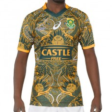 South Africa Blitzboks reveal Mandela 100 Tee